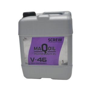 Ruuvikompressorioljy-V46-öljy-5-litraa