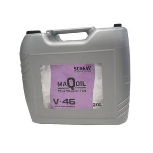 Ruuvikompressorioljy-V46-20-litraa